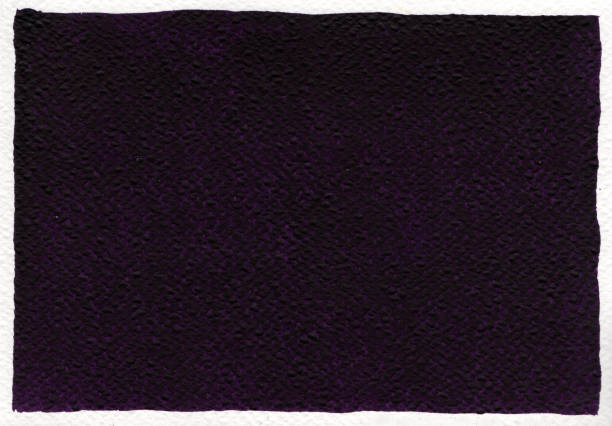 Dark-Violet Watercolor background stock photo