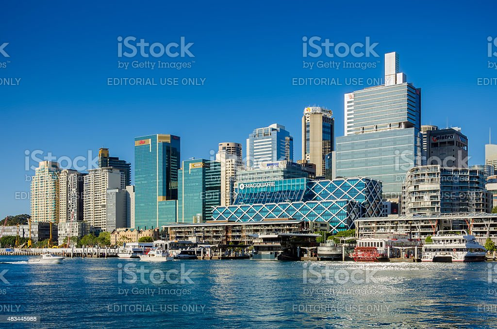 Darling Harbor, Sydney, Australia stock photo