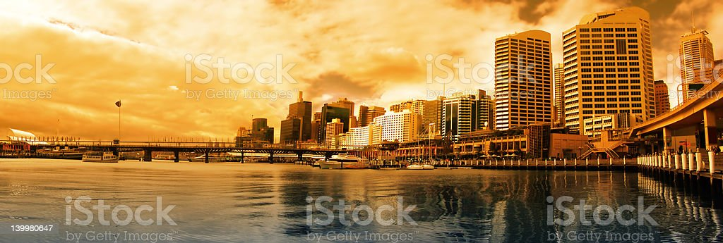 Darling Harbour royalty-free stock photo