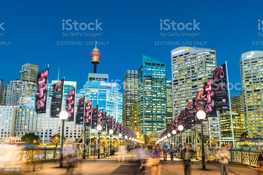 Darling Harbour stock photo