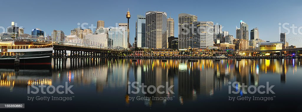 Darling Harbour, Sydney, Australia (XXXL) stock photo