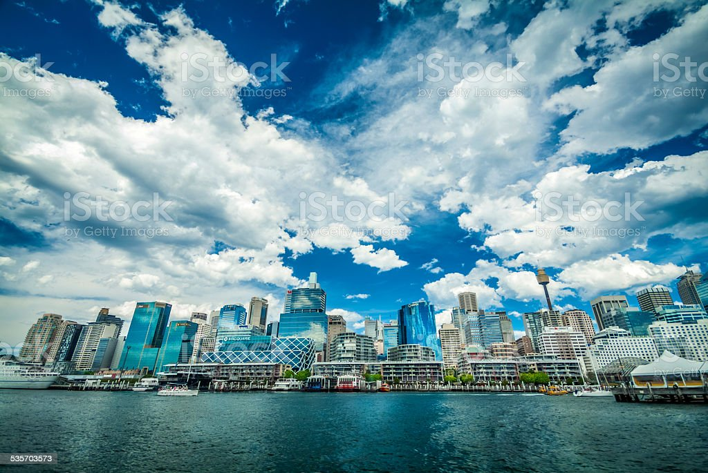 Darling Harbour, Sydney, Australia stock photo