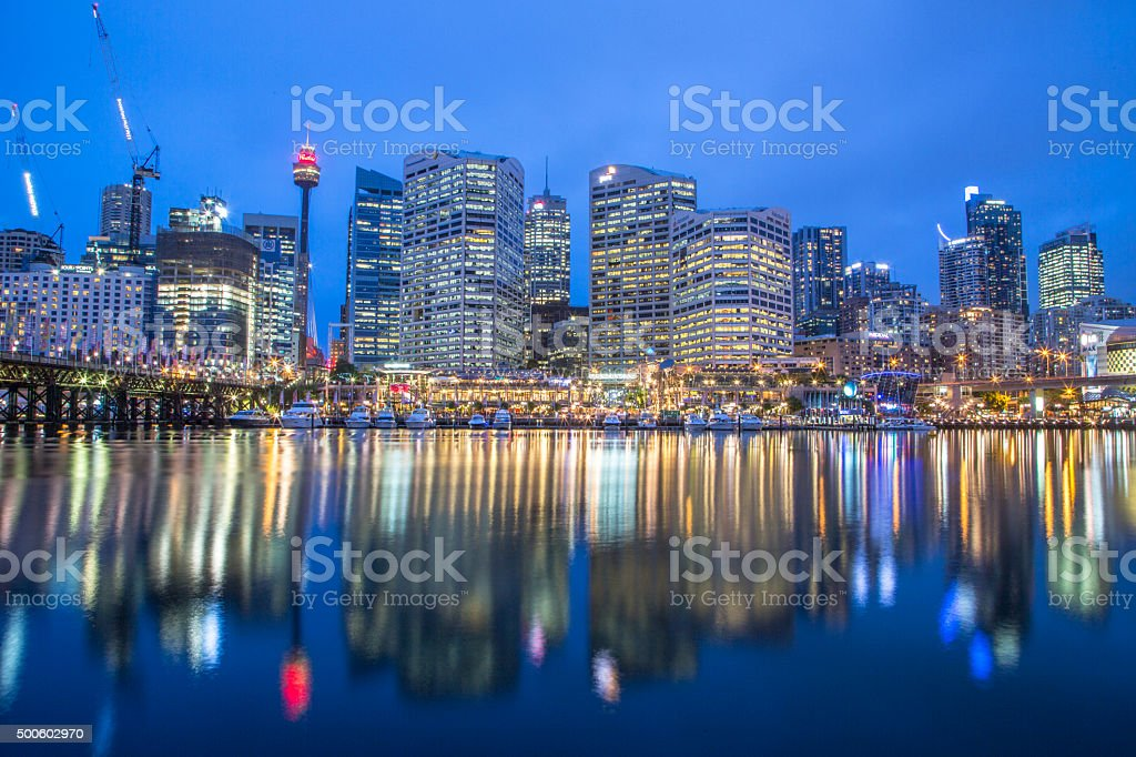 Darling harbour, Sydney stock photo