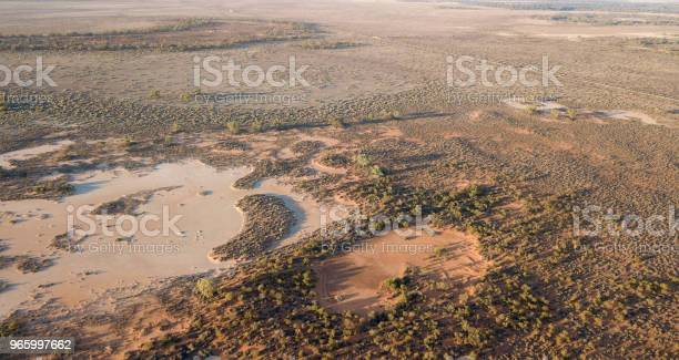 Darling River Flood Plains Stock Photo - Download Image Now