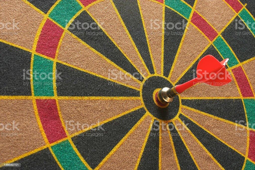 dart 1 stock photo