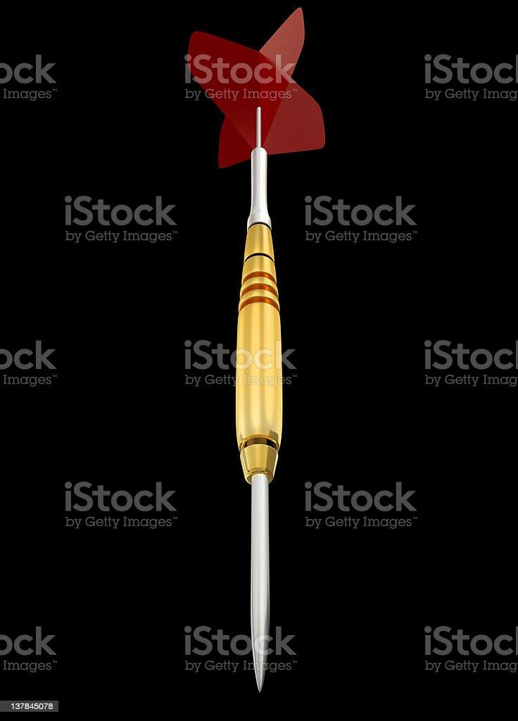 Dart Arrow - isolated royalty-free stock photo