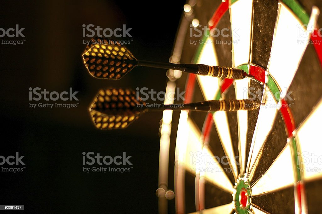 Dart Board 1 royalty-free stock photo