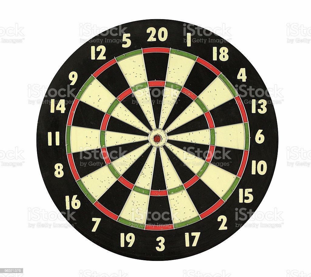 Dart Board royalty-free stock photo