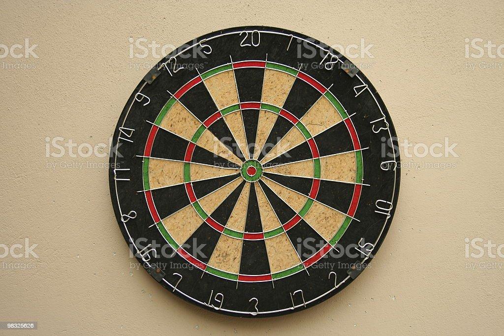 dart board stock photo