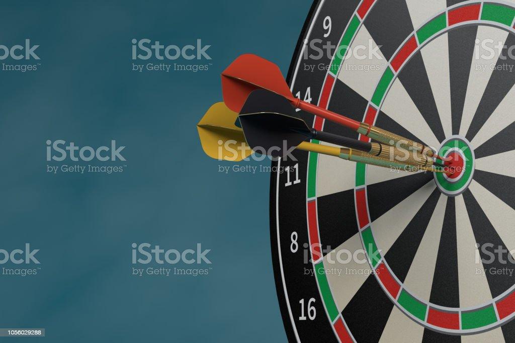 Bull\'s-Eye, Circle, Dartboard, Goal, Target, Business, Dart