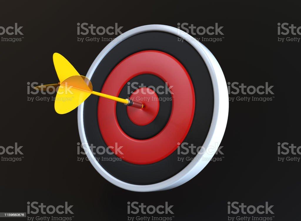 Dart in Bull\'s Eye