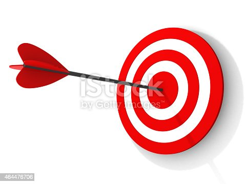 840201636 istock photo Dart on a white background 464476706