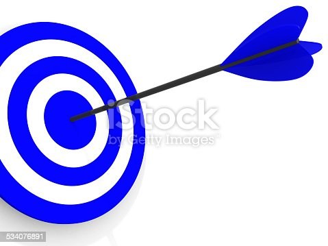 840201636 istock photo Dart on a white background 534076891