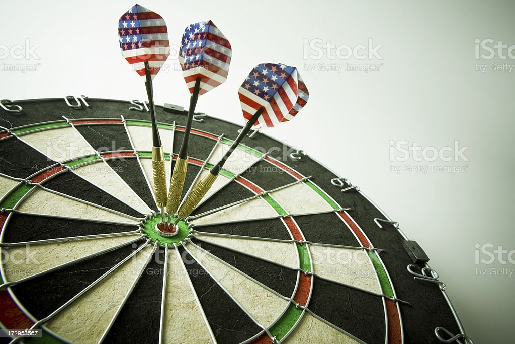 Dart royalty-free stock photo
