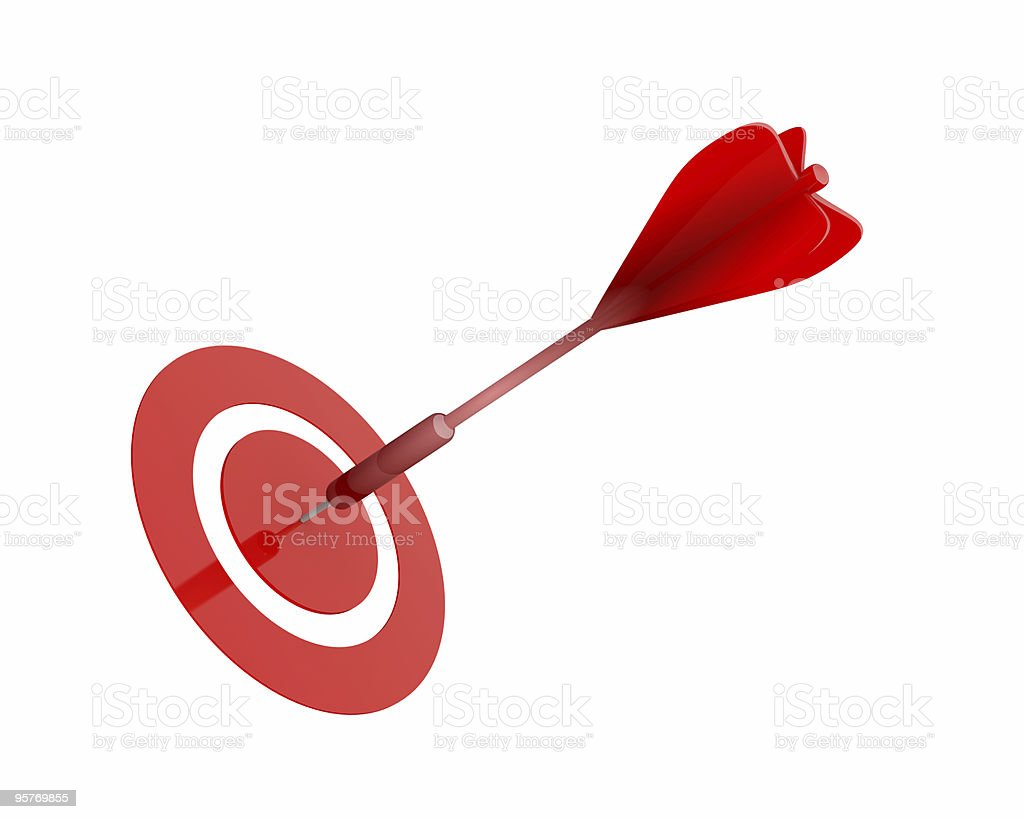 dart, success concept royalty-free stock photo