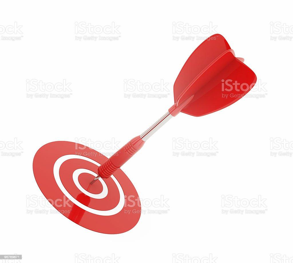 dart, success concept royalty-free stock photo