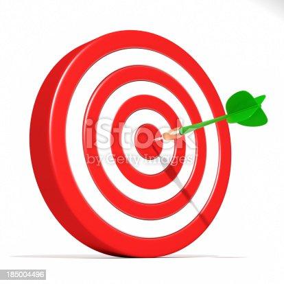 istock Dart Target Success 185004496