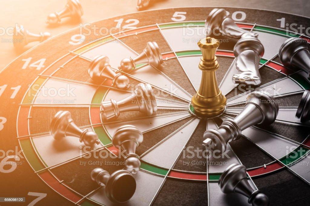 dartboard business stretegy ideas concept royalty-free stock photo