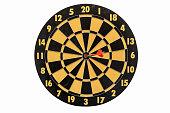 istock dartboard isolated on white background 541123322