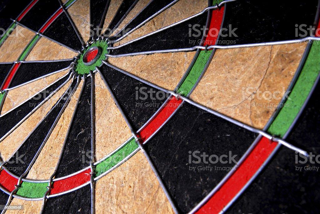 Dartboard. royalty-free stock photo