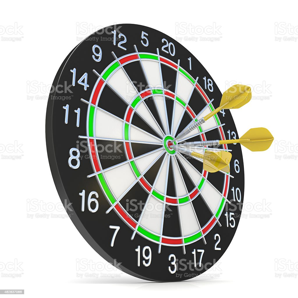 dart boards target clip art pictures, images and stock photos - istock