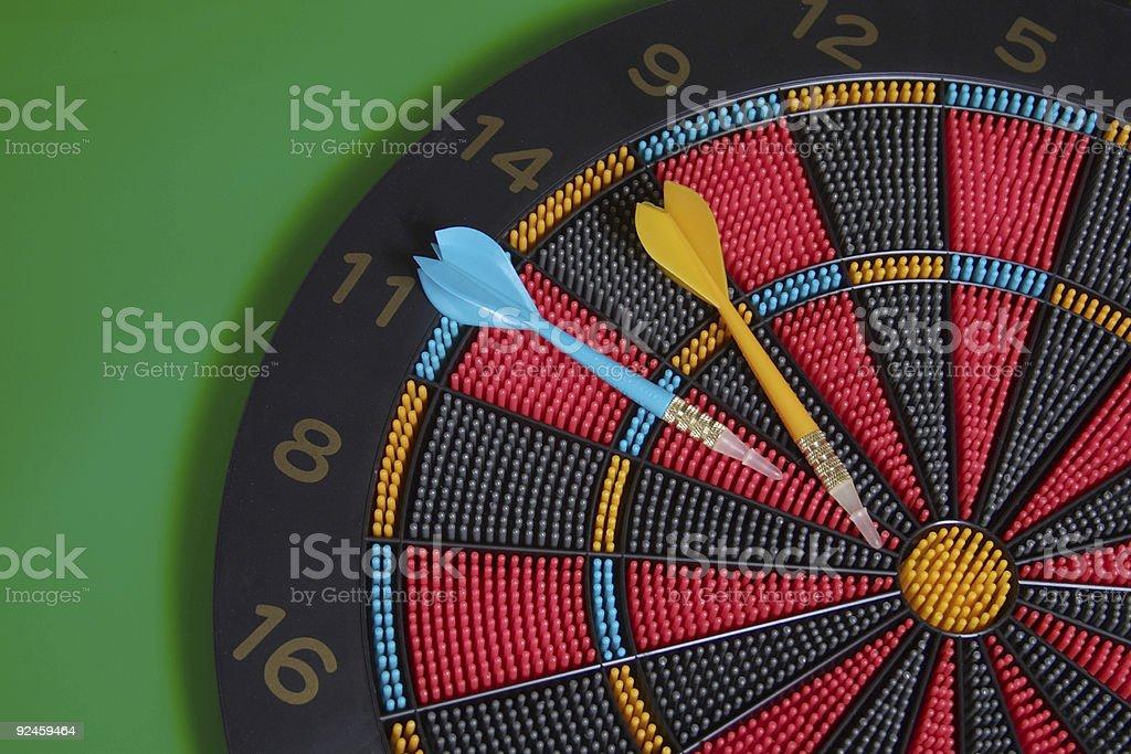 dartboard2 royalty-free stock photo