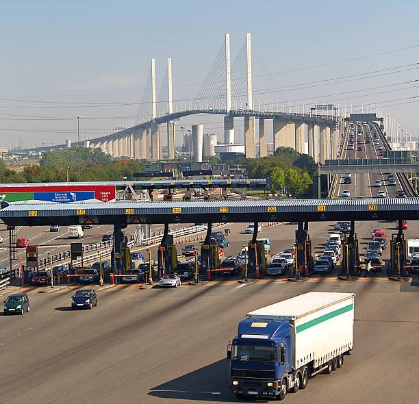Themse-Brücke Dartford Crossing – Foto