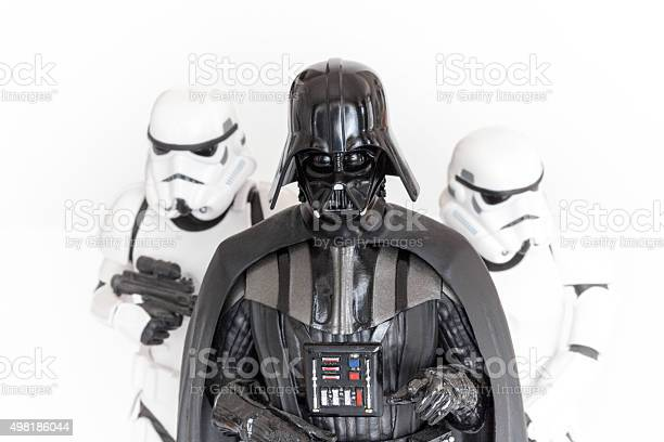 Darth Vader 및 Stormtroopers 2015년에 대한 스톡 사진 및 기타 이미지