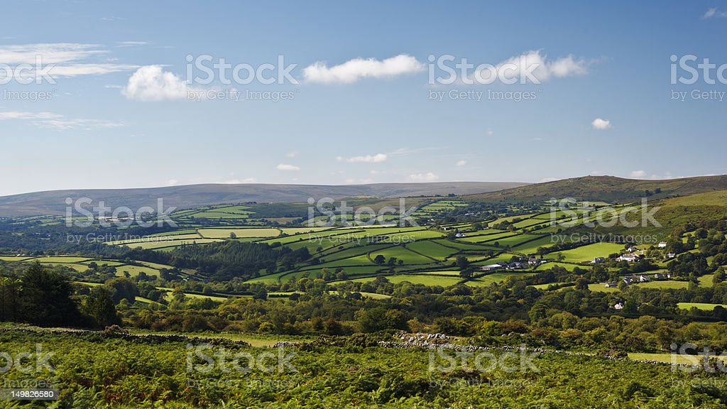 Dartmoor stock photo
