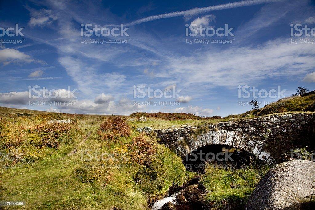 Dartmoor royalty-free stock photo