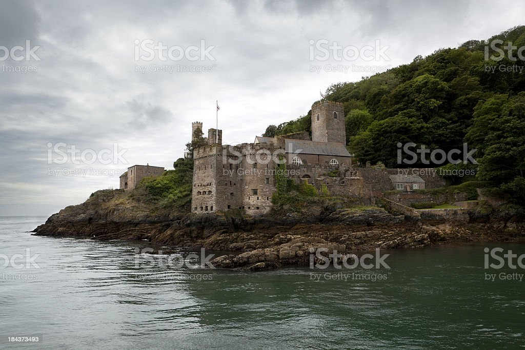 Dartmouth Castle, (XXXL) stock photo