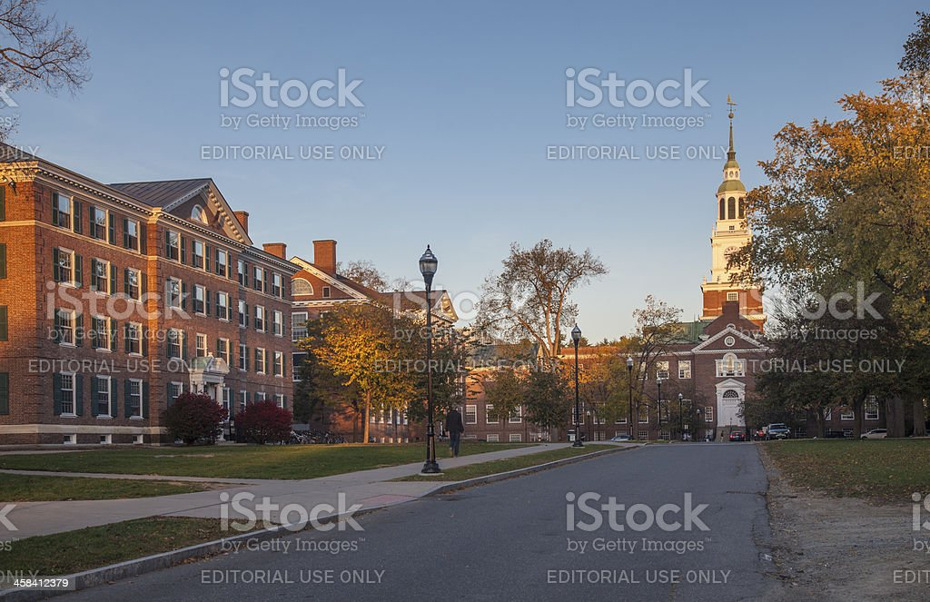 Dartmouth College foto de stock libre de derechos