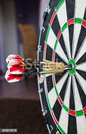 istock Darts board close-up 505915516