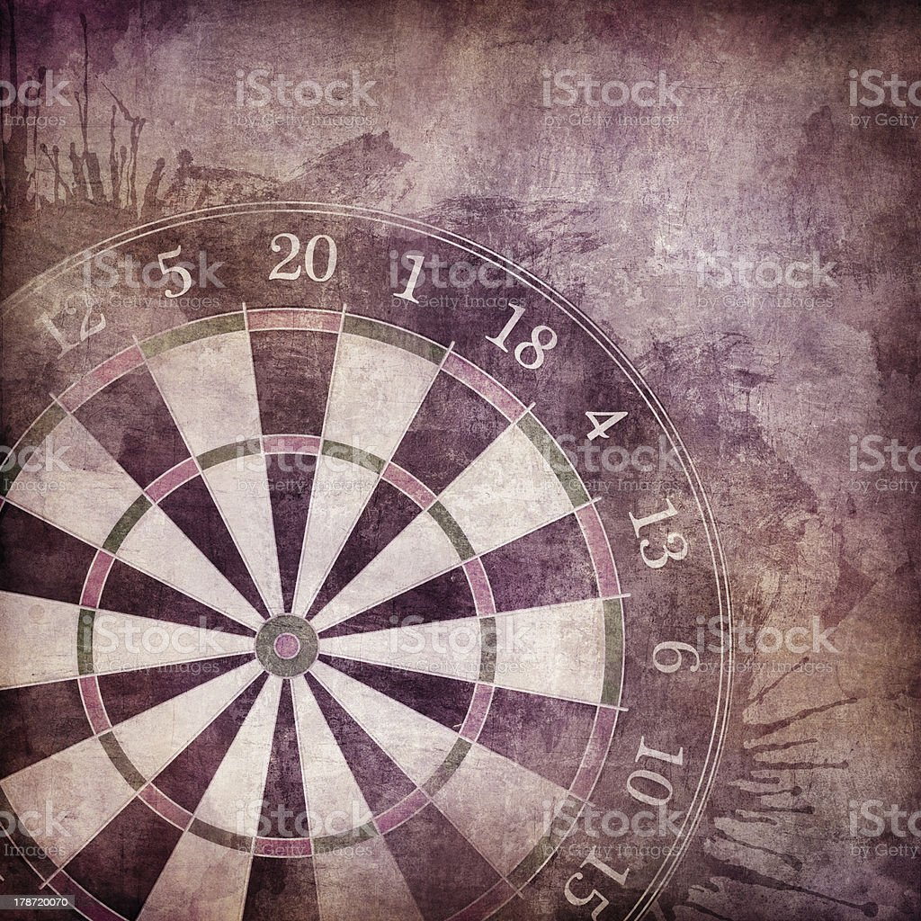 Darts Board royalty-free stock photo