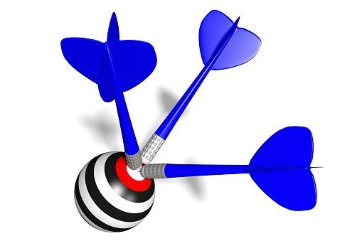 921518946 istock photo 3D darts concept 512886944