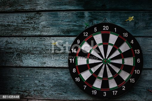 istock Darts. Hit right on target. Wins resistant 831405448