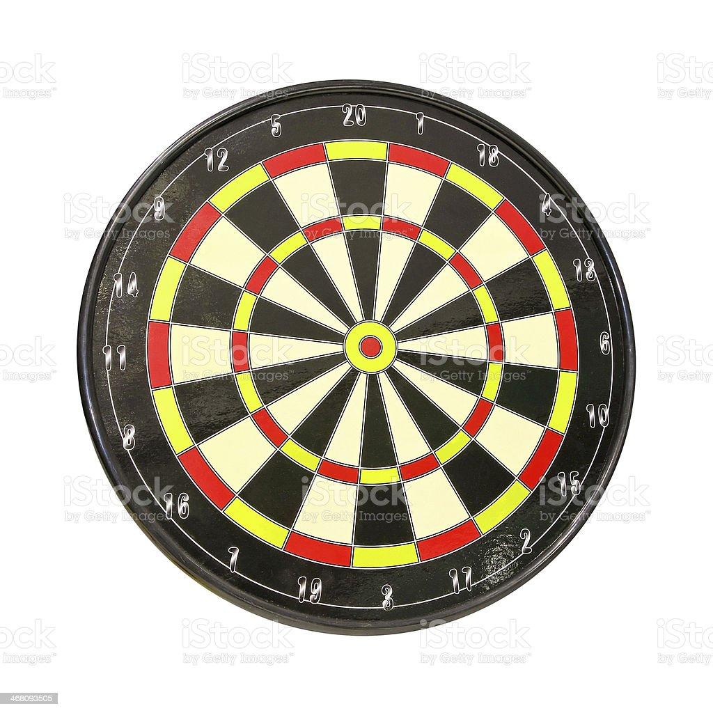 Darts isolated royalty-free stock photo