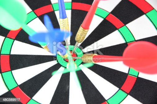 istock Darts on Target. 480389517