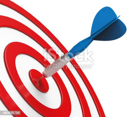 istock Darts on Target 480835755