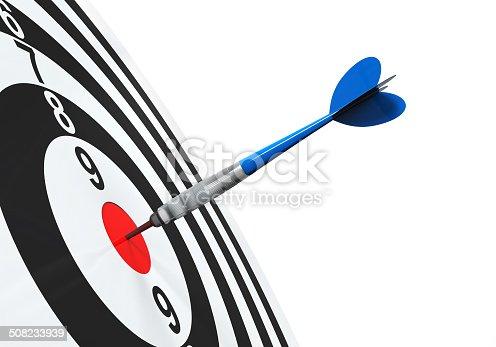istock Darts on Target 508233939