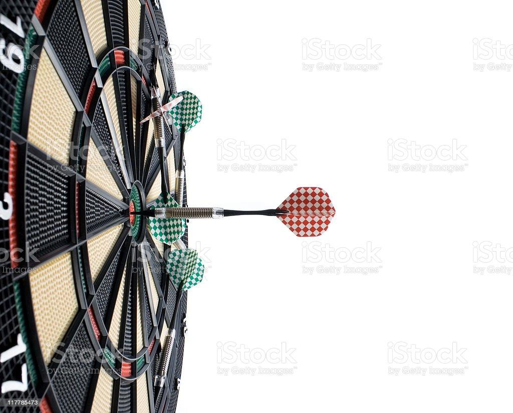 Darts series royalty-free stock photo