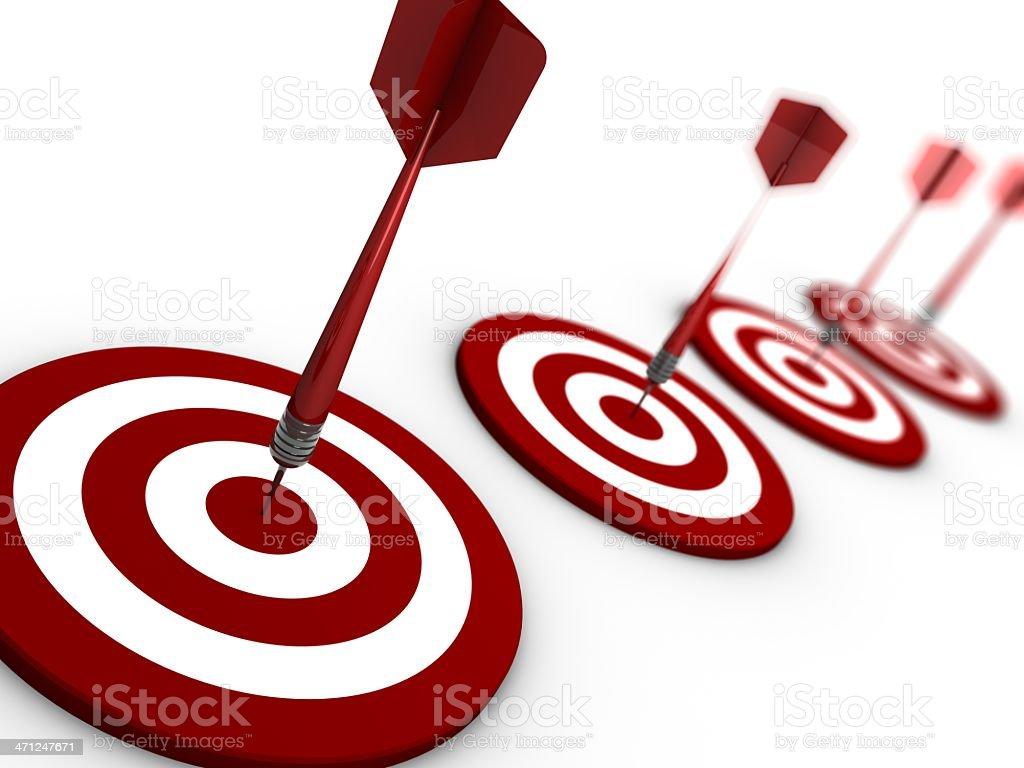 darts series stock photo