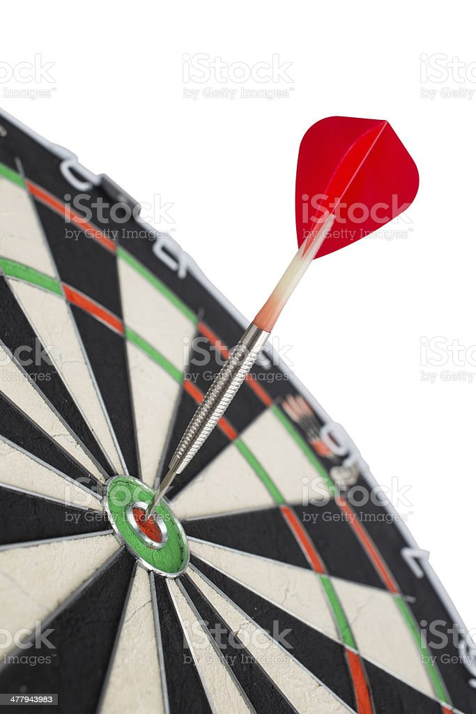 Darts, winner, accurate, sports royalty-free stock photo