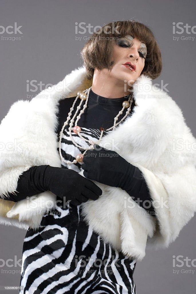 Daruma Drag Queen stock photo