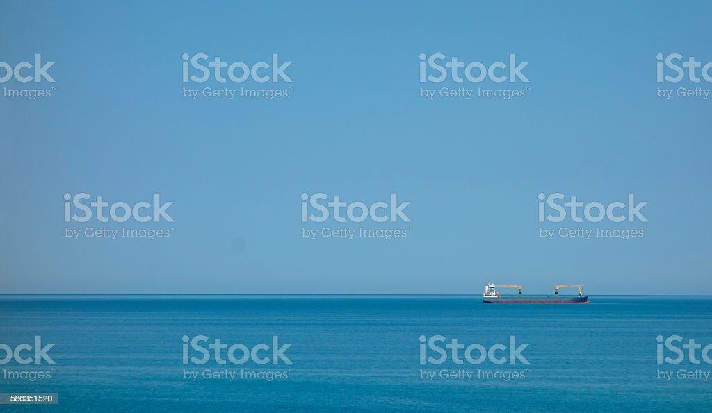Das große Blau stock photo