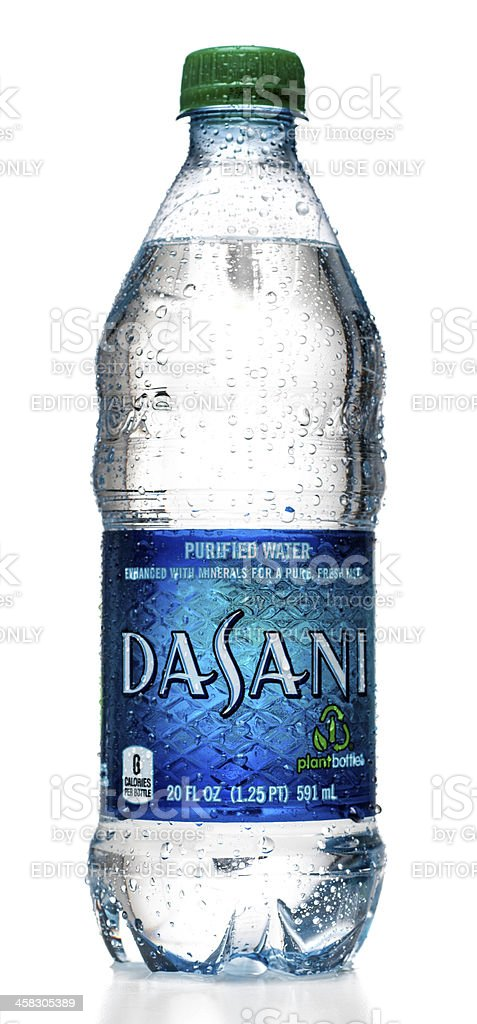 Dasani Water Bottle With Drops Stock Photo More Pictures Of Bottle