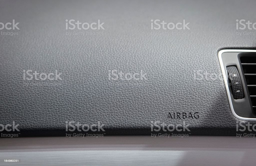 Dashboard Airbag stock photo