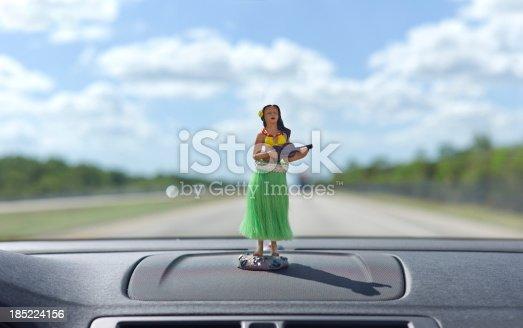 Dashboard hula dancer on car dashboard.Please Also See: