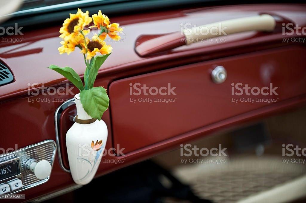 VW Dashboard stock photo