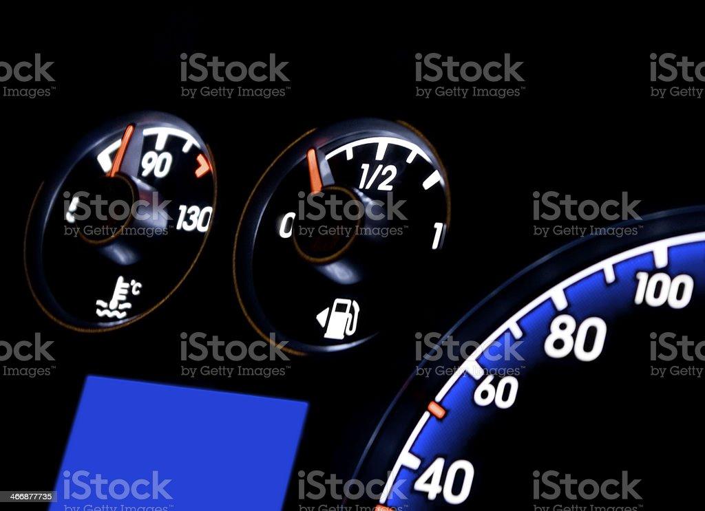 Dashboard stock photo